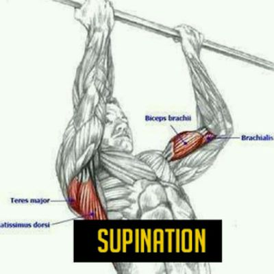 Traction Supination