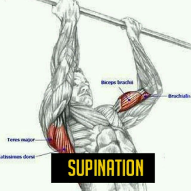 How to do: Traction Supination - Step 1