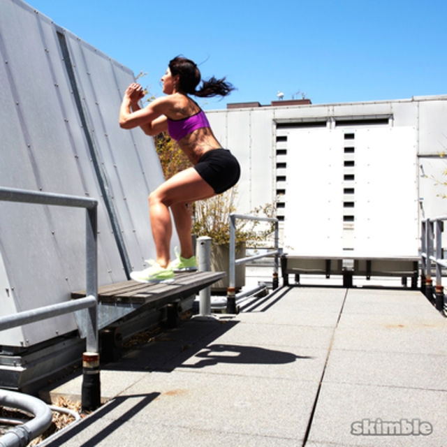 How to do: Box Jumps - Step 3