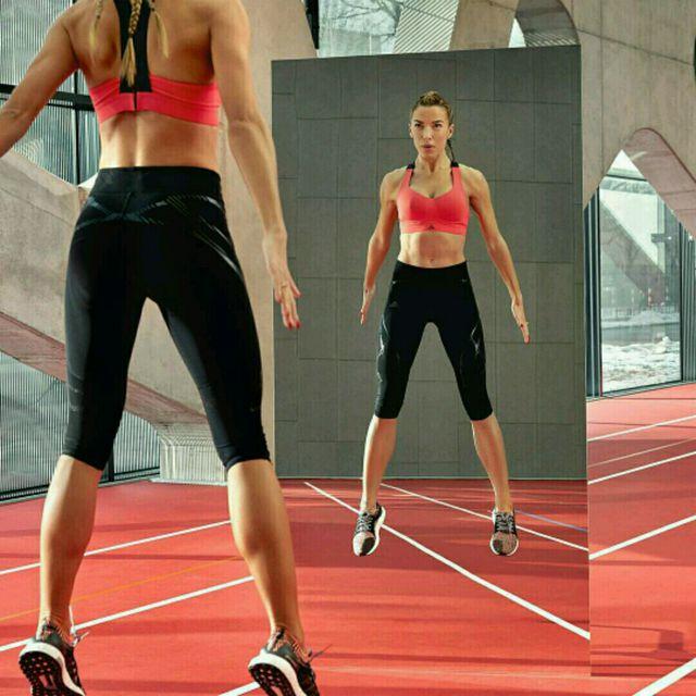 How to do: Mixed Chodakowska Squats - Step 1