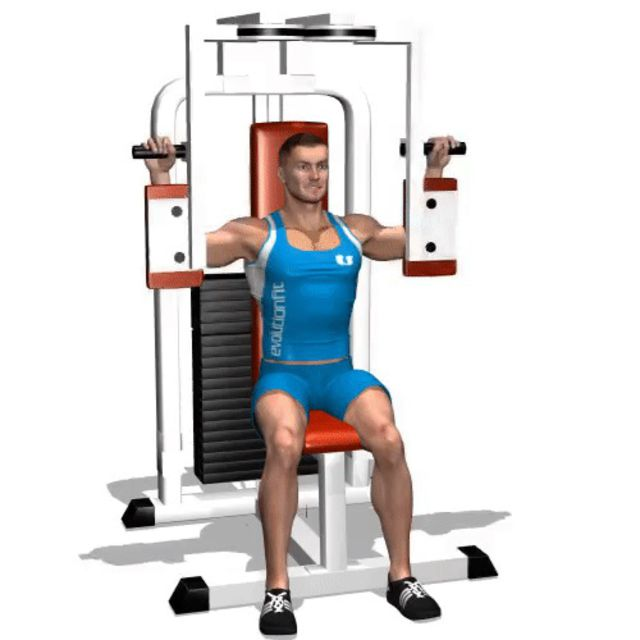 How to do: Pec Machine - Step 1