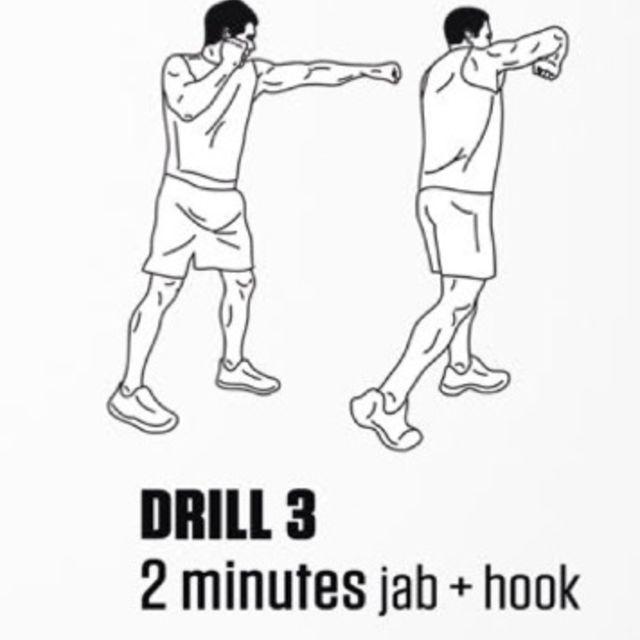 How to do: Jab And Hooks - Step 1