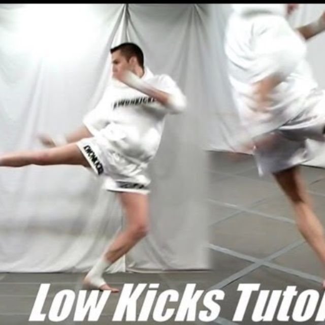 How to do: Low Kick - Step 1