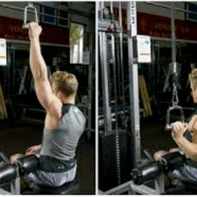 How to do: Single Arm Lat Pulldown - Step 1