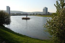 Bratislava, jazero Kuchajda, Slovakia