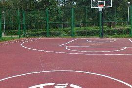 basketball playground, Russia
