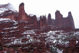 Fisher Towers, Utah, United States