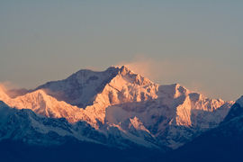 Kangchenjunga, India