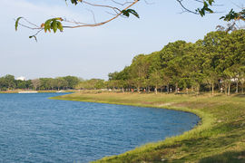 Bedok reservoir, Singapore