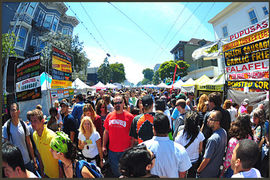 Haight Street, San Francisco, California, United States
