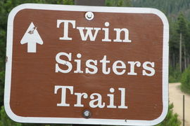 Twin Sisters Trail, Rocky Mtn. Nat'l Park, Colorado, United States