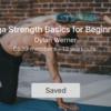 Yoga strenght basics for beginners
