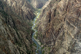 Black Canyon Of The Gunnison National Park, Colorado, United States