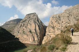 El Chorro in Quesada, Spain