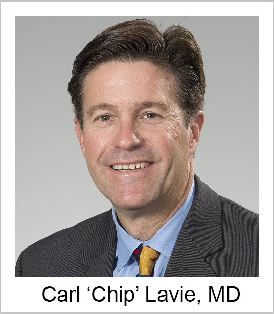 Carl 'Chip' Lavie, MD