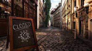 closed board