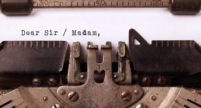 lettre ouverte