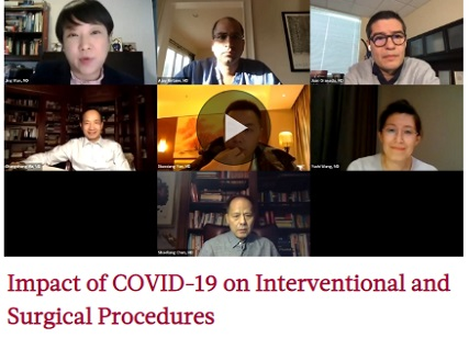 Impact of COVID-19 on Interventional and Surgical Procedures