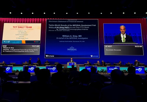 TCT 2018, Day One: 'Back to the Future' With Stents, Stents, and More Stents