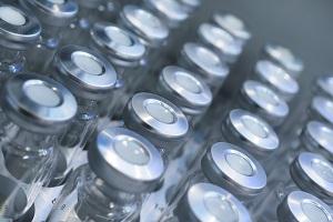 glass vials