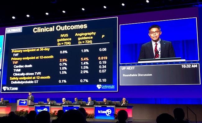 TCT 2018, Day Three: Intravascular Imaging and Anticoagulation