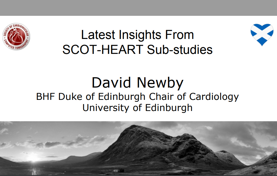 Latest Insights From SCOT-HEART Sub-studies