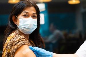 vaccine woman