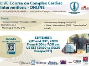 Live Course on Complex Cardiac Interventions