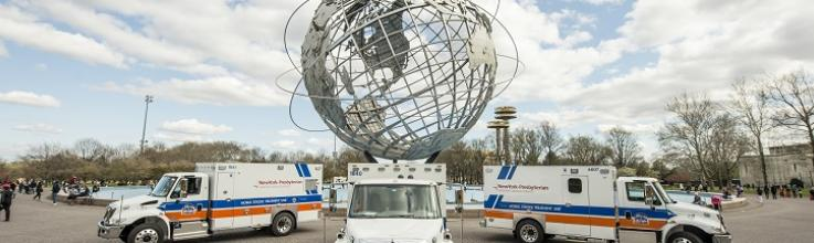Mobile Stroke Units Hasten Triage Even in Dense Cities