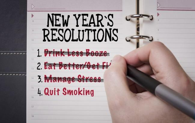 Quit This, Start That: How Common New Year's Resolutions Impact the Heart