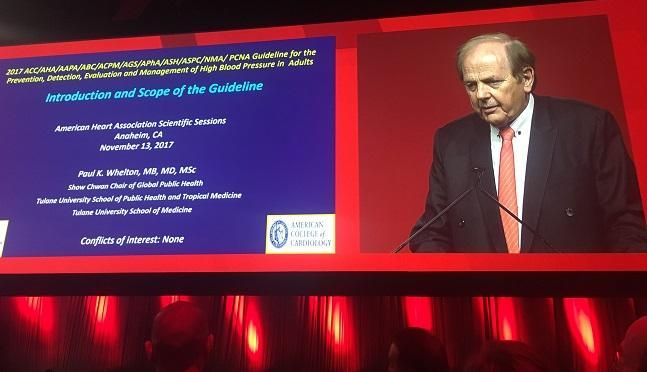 Long-Awaited Hypertension Guidelines Released at AHA