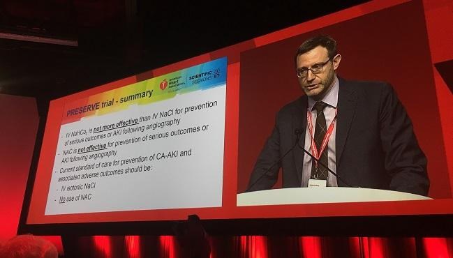 PRESERVE Puts the Kibosh on Approaches to Preventing Contrast-Associated AKI