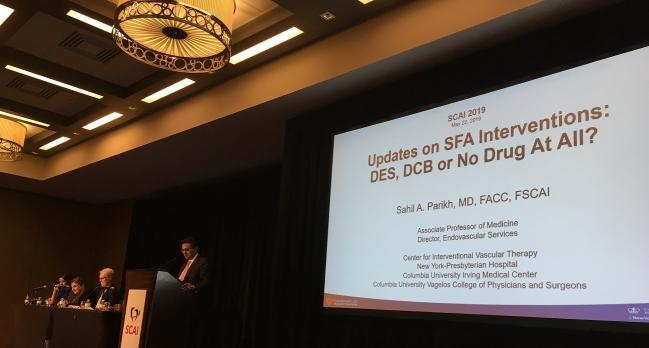 Paclitaxel DCBs and CHIP: SCAI Kicks Off With Two Hot-Potato Topics