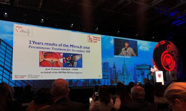 MITRA-FR at 2 Years: Still No Benefit of MitraClip Over Meds
