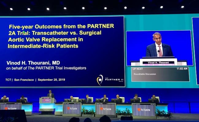 Long-term PARTNER 2A Results Put Spotlight on Paravalvular Leak in TAVR