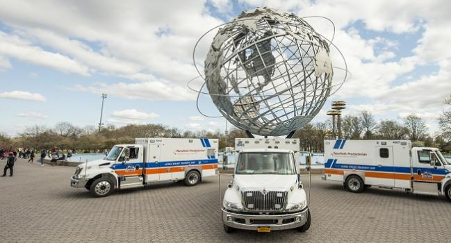 Mobile Stroke Units Hasten Triage Even in Dense Cities