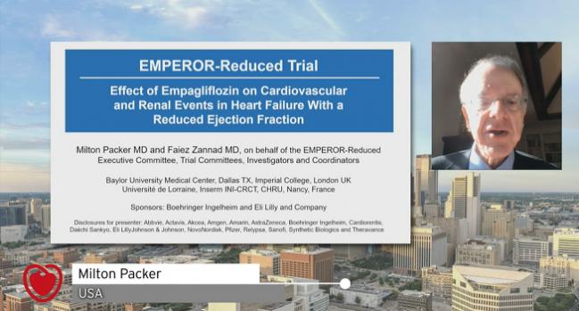 EMPEROR-Reduced: Empagliflozin Cuts Hospitalizations, CV Mortality in HFrEF