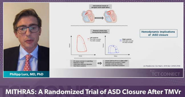 MITHRAS: No Upside to Closing iASDs Caused by Transcatheter MV Interventions