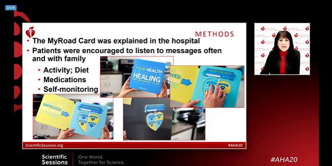 Simple Tech Empowers HF Patients, Boosting Health: EPIC-HF and MyROAD
