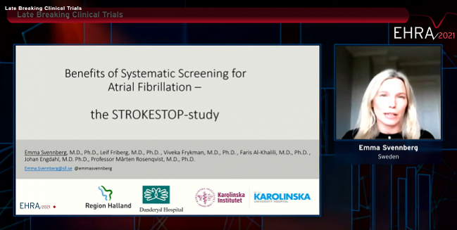 STROKESTOP: Small Clinical Benefit Seen With Systematic AF Screening