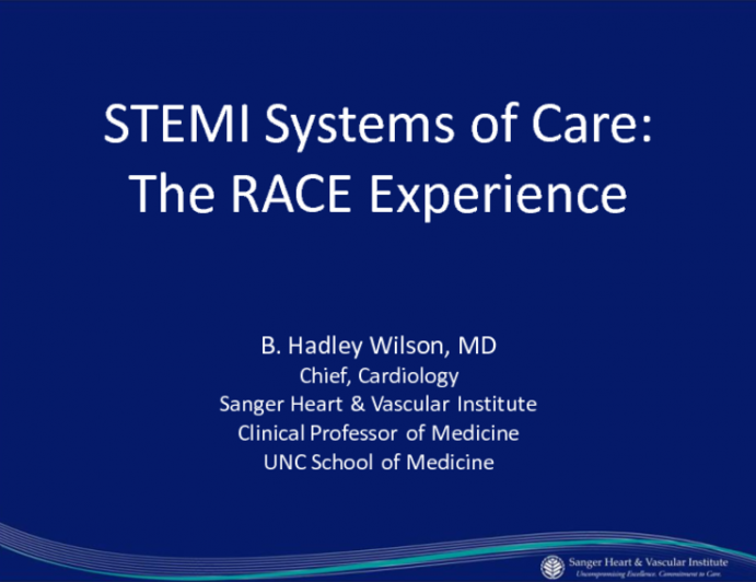 STEMI Systems of Care: The Race Experience