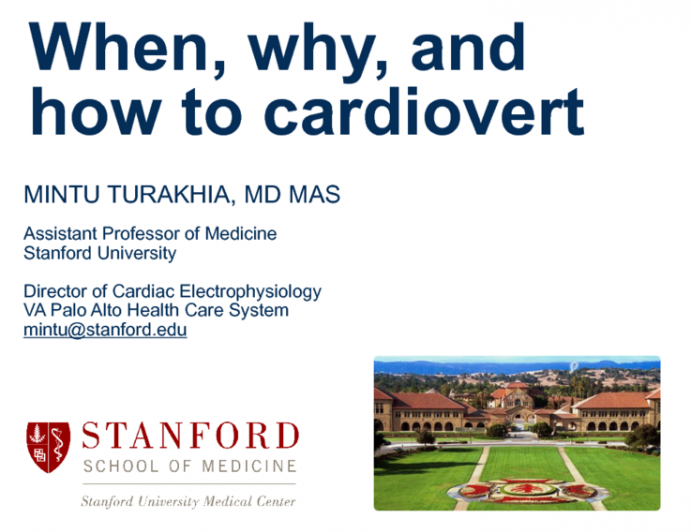 When, Why, and How to Cardiovert