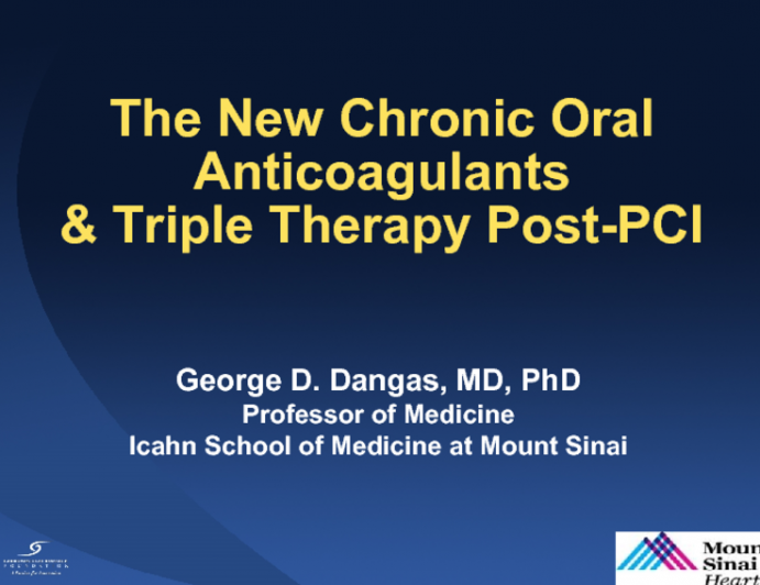 Navigating the New Oral Anticoagulants and Triple Therapy