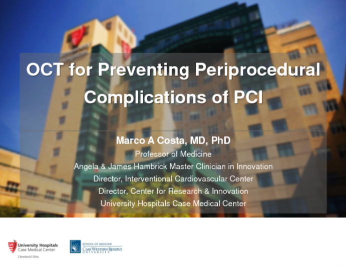 OCT for Preventing Periprocedural Complications of PCI