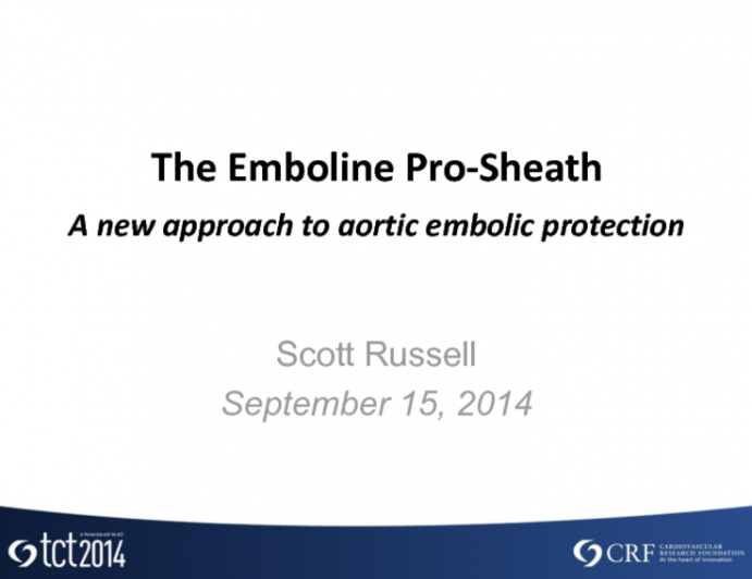 The Emboline Aortic Embolic Protection Technology