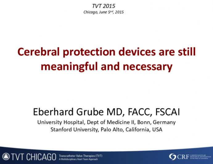 Cerebral Protection Devices Are Still Meaningful and Necessary