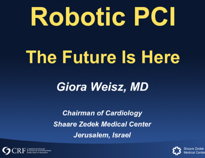 Robotic PCI: The Future Is Here