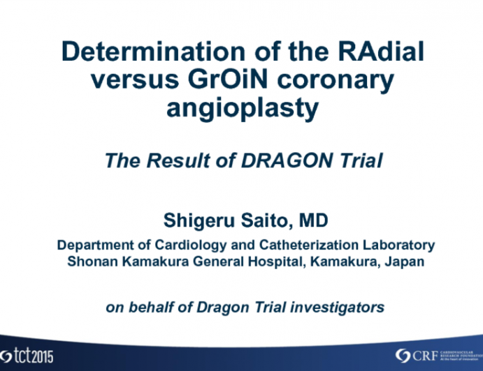 A Prospective Randomized Trial of Transradial vs Transfemoral Access in Patients Undergoing Coronary Angiography and Intervention