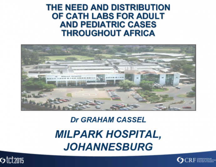 Distribution of Cath Labs Throughout Africa