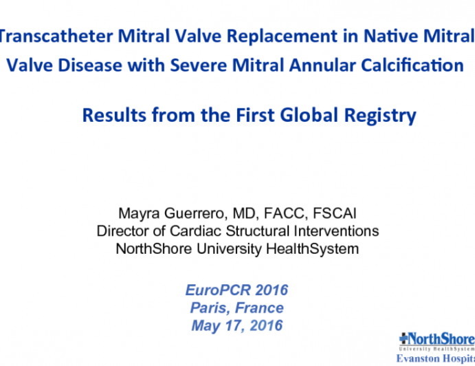 Transcatheter Mitral Valve Replacement in Native Mitral Valve Disease with Severe Mitral Annular Calcification